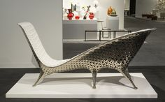 """Stephen Sills, Interior Designer """"The fantastic Joris Laarman chaise at Friedman Benda was my favorite piece from Design Miami. I think he is one of the great contemporary designers of furniture."""""""
