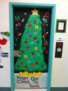 57 best Christmas Classroom doors images on Pinterest | Xmas ...
