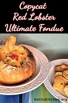 Red Lobster Fondue Recipe, Lobster Recipes, Seafood Recipes, Meatless Recipes, Lunch Recipes, Dessert Recipes, Cooking Recipes, Desserts, Red Lobster Bread