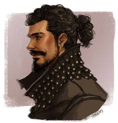 The Musketeers fan art - Porthos; The way Howie's going this look seems more and more likely lol