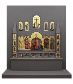 piero della francesca: polyptych of the madonna della misericordia Italian Paintings, Madonna, Art History, Baroque, Renaissance, Chiaroscuro, Empire, Gothic, Religion