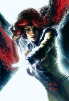 X-men: Jean Grey - Marvel Girl Comic Book Characters, Marvel Characters, Comic Character, Comic Books Art, Comic Art, Comic Pics, Book Art, Marvel Comics, Bd Comics
