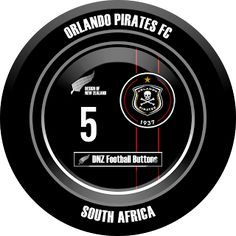 DNZ Football Buttons: Orlando Pirates FC
