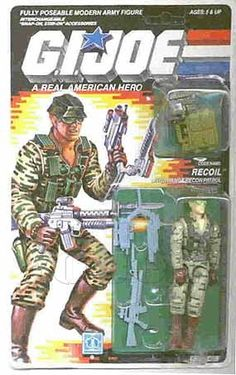 Recoil (v1) G.I. Joe Action Figure - YoJoe Archive