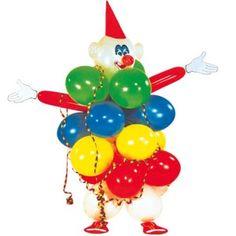 Clown en ballons