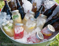 Backyard Movie Party and Popcorn Bar Ideas Backyard movie party beverages in a barrel. Pre-make cock Backyard Movie Party, Outdoor Movie Party, Backyard Birthday Parties, Backyard Movie Nights, Outdoor Movie Nights, Outdoor Birthday, Adult Birthday Party, Bbq Party, Backyard Bar