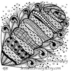 zentangle patterns | zentangle | Zentangles & Patterns