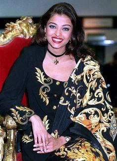 Aishwarya during her Miss World Days {1994-95}