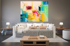 Large Modern Wall Art Painting,Large Abstract wall art,painting for home,abstract originals,abstract wall art FY0077
