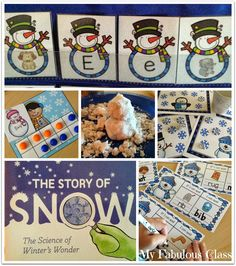 Look at all of these winter ideas. Includes a science project, KWL chart, word work ideas, math ideas and FREEBIES!