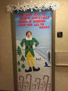 Buddy The Elf Door Decorations