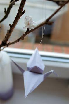 Origami - Kraniche Origami - Crane