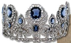 Empress Josephine's Sapphire Tiara
