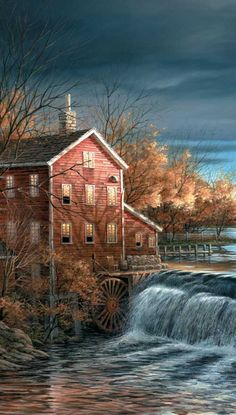 Autumn Afternoon {cropped} by Terry Redlin ~ pinnacle edition print