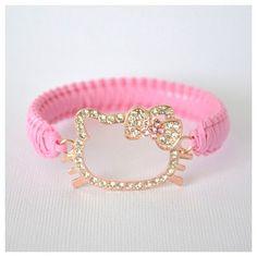 SALE Hello Kitty Bracelet by HandcraftedbyLC on Etsy, $10.00