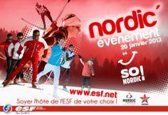 Chantemerle - Nordic'Evénement - 20 janvier 2013  http://cabougedansle05.com/2013/01/15/animations-chantemerle/