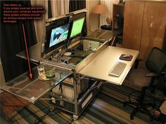 IKEA Hackers: Home Office In A Box