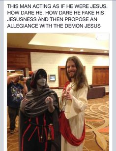 lmao I'll make sure I do this when I'm in signless cosplay