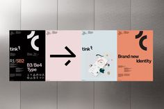 New visual identity for Tink. & Corporate Identity Portal The post New visual identity for Tink. Logo And Identity, Corporate Identity Design, Tech Branding, Brand Identity Design, Graphic Design Typography, Visual Identity, Business Branding, Typography Logo, Modern Typography