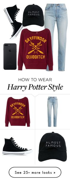 """Untitled #984"" by ainara26 on Polyvore featuring Yves Saint Laurent, Converse and Nasaseasons"