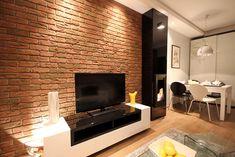 foorni.pl | PŁYTKA CEGŁOPODOBNA COUNTRY 640, ceglana ściana w salonie,  producent: Stegu