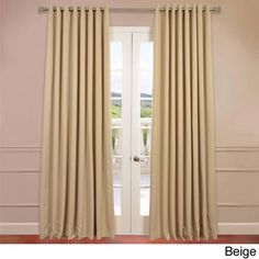 Extra Wide Thermal Blackout Grommet Top 108-inch Curtain Panel   Overstock™ Shopping - Great Deals on EFF Curtains