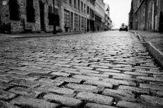 Old Montreal, after the rain by pong0814, via Flickr