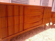 dresser and nightstand MCM