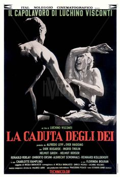 La Caduta degli dei (The Damned) - Italy/German 1969,  directed by Luchino Visconti. Cast: Dirk Bogarde, Ingrid Thulin, Helmut Griem, Helmut Berger