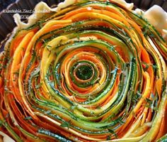 Vegetable tart  soooooooo pretty!