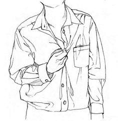 Human Drawing, Guy Drawing, Drawing Poses, Drawing Lessons, Manga Drawing, Drawing Techniques, Drawing Tips, Drawing Sketches, Art Drawings