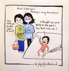 #joysofmotherhood: Vaccination times