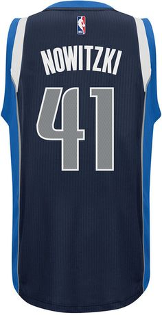 65898531f adidas Men s Dirk Nowitzki Dallas Mavericks Swingman Jersey Nba Swingman  Jersey