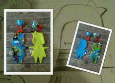 jakoebies lotta en leo tutslinger in de vorm van een popje
