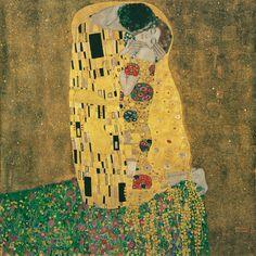 Gustav Klimt, Kiss @artsy