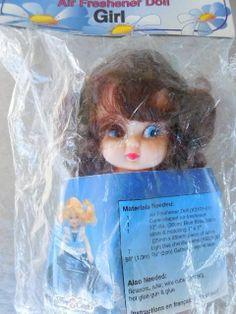 AIR FRESHENER DOLL GIRL Fibre Craft