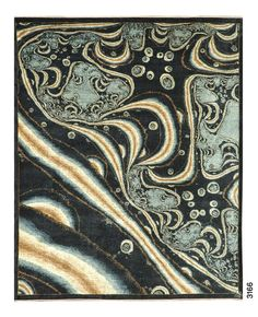 Vibrant Galaxy Rug In Deep And Light Blues With Yellow Streaks F534 3166