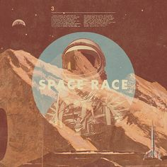 Space Race #poster #retro