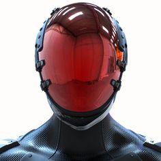 Dreamwalker - Sci-fi Robot Soldier by James Simmons © James N. Suit Of Armor, Body Armor, Armor Concept, Concept Art, Medieval Combat, Rude Mechanicals, Theme Design, Arte Sci Fi, Arte Fashion