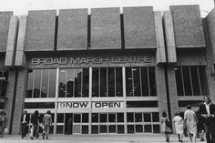 The Broadmarsh shopping centre Nottingham when it first opened