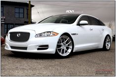 Jaguar after modification and/or restoration by ADV.1 Wheels. Visit this section to see stunning photos with complete step by step build photos.