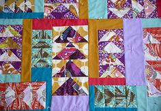 Magic Triangle Quilt Block Directions | eHow