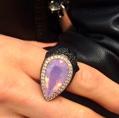 Statement Rings, Gemstone Rings, Casual Fridays, Gemstones, Jewelry, Fashion, Moda, Jewlery, Dress Down Friday