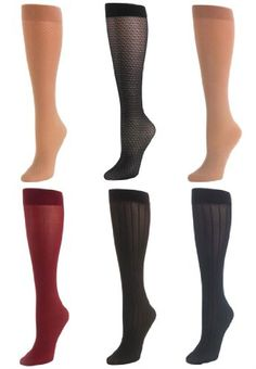 Comfort Choice Plus Size 6-Pack Multi Textured Trouser Socks for only $18.56 You save: $2.02 (10%)