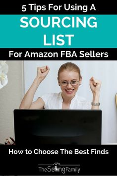 5 Tips For Using A Sourcing List For Amazon FBA Sellers