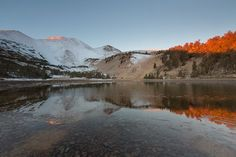 Calm Dawn Alpenglow by Jeff Sullivan