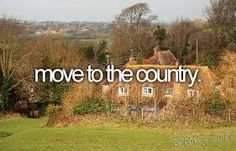 move to the country... Away from people!