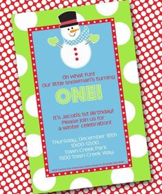 Let it Snow party!  This site has tons of great ideas! :)