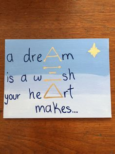 Alpha Xi Delta A dream is a wish your heart by ConsidineCrafts