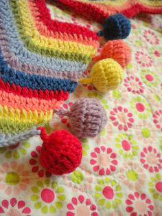 Zigzag Rainbow scarf
